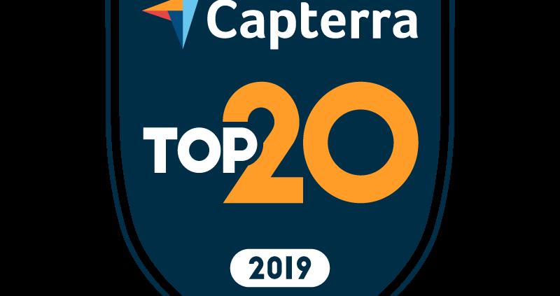 2019 Capterra Top 20 IT Asset Management Software Badge