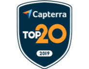 2019 Capterra Top 20 IT Asset Management Software Badge