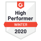 2020 G2 2020 HighPerformer Badge