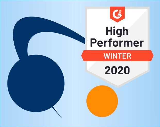 G2 2020 High Performer Badge