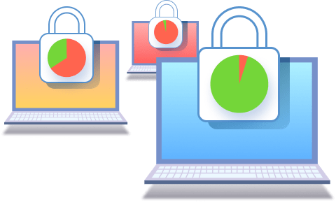 Image illustrated the benift: Stay secure