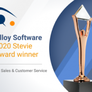 Alloy Software Wins Bronze Stevie® Award for Sales & Customer Service