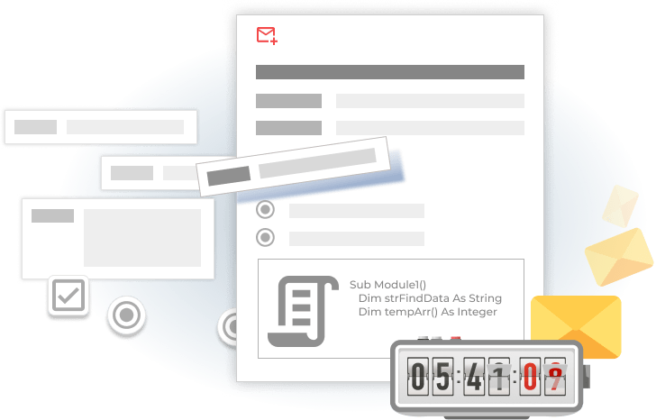 Customize email alerts to your needs