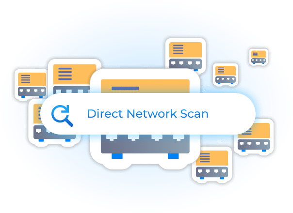 Scan the Network to Discover Switches