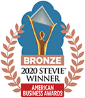 Stevie ABA ITSM Award Badge