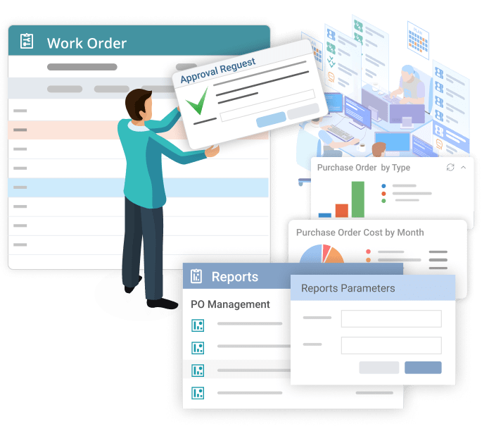Stakeholder approving WO