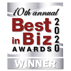 Best in Biz Awards Badge