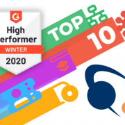 G2 High Performer badge and Alloy Software logo