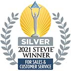 2021 Stevie Award Badge